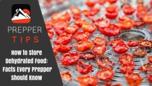How to Store Dehydrated Food: Facts Every Prepper Should Know