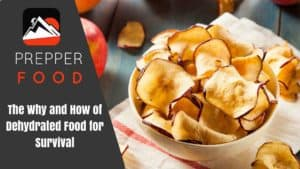 The Why and How of Dehydrated Food for Survival