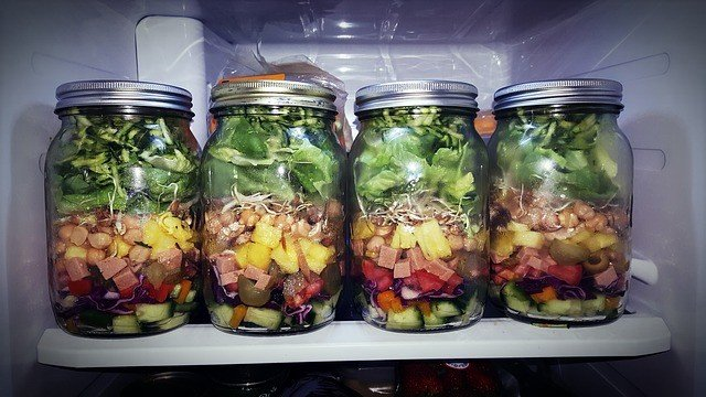Mason jars food preservation